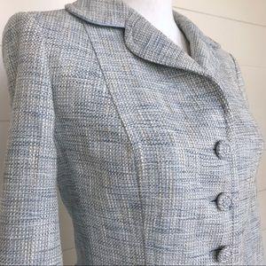 Ann Taylor | Tweed 3/4 Sleeve Blazer | Size 6